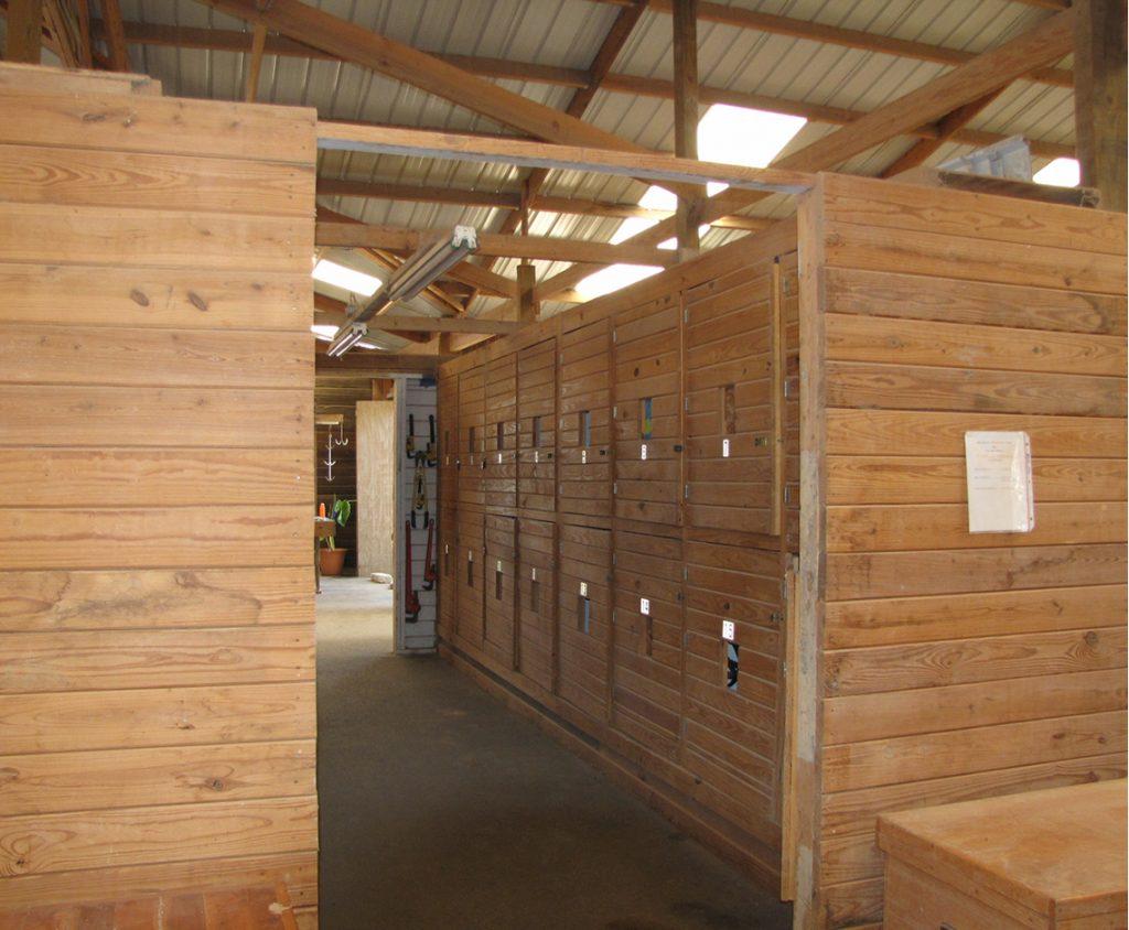 Hilltop Farm Tack Lockers